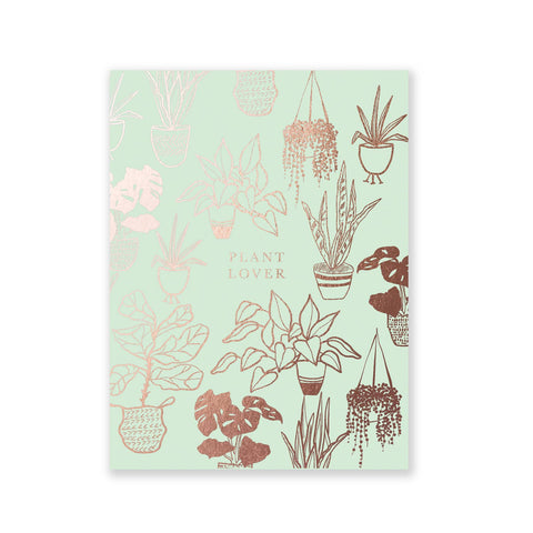 Mini Mint Plant Lover Notepad