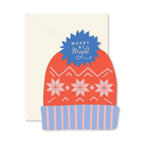 Merry and Bright Hat Card