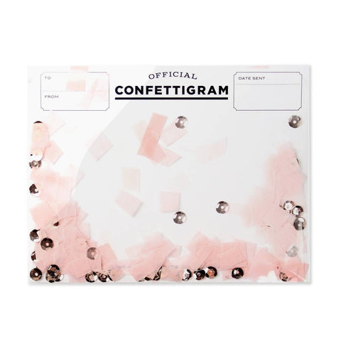 Rose Gold Confettigram
