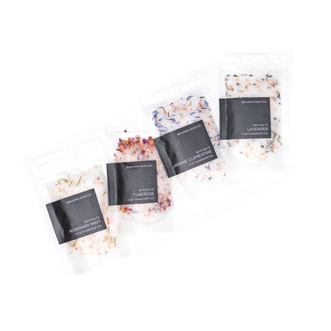 Flower Bath Salt Bag