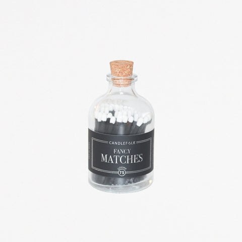 Black on Black Apothecary Matches
