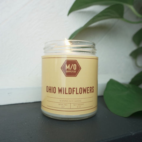 Ohio Wildflower Candle