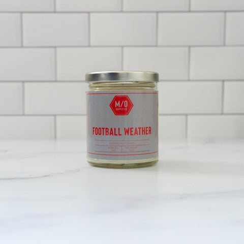Football Weather Candle