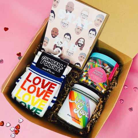 Love is Love Valentine Box