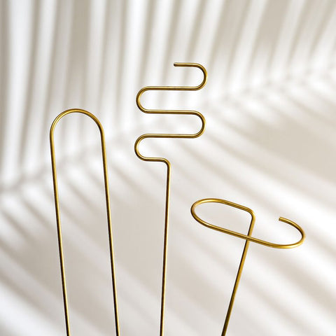 Brass Plant Sticks