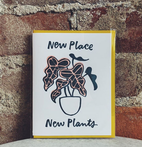 New Place, New Plants Card