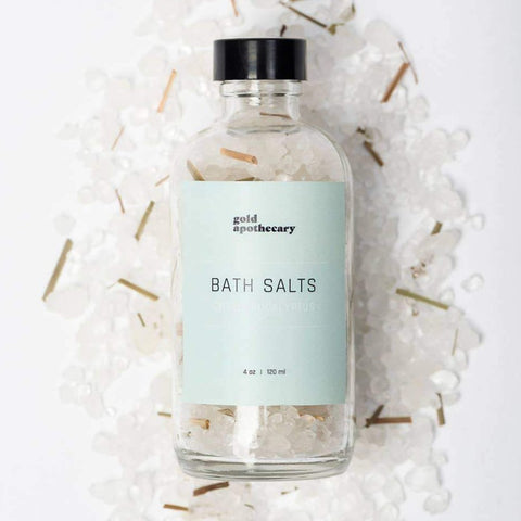 4oz Citrus Eucalyptus Bath Salt