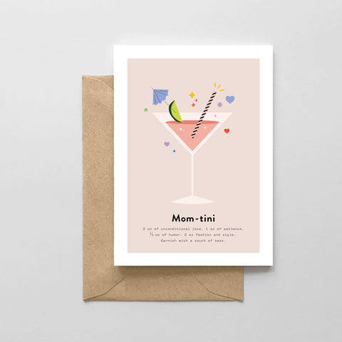Momtini  - Mother's Day Card
