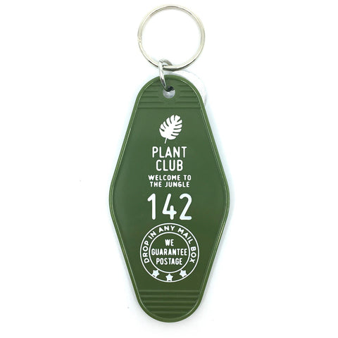 Plant Club Motel Key Chain