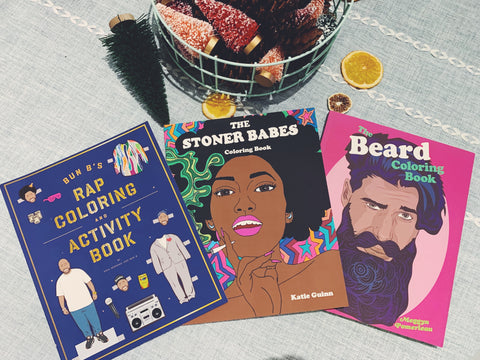 The Beard Coloring Book