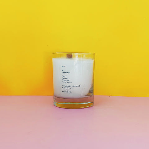 Air Wood Wick Candle