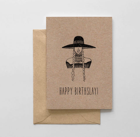 Happy Birthslay Beyonce Card