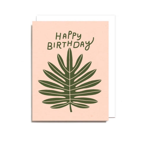 Happy Birthday Leaf Card