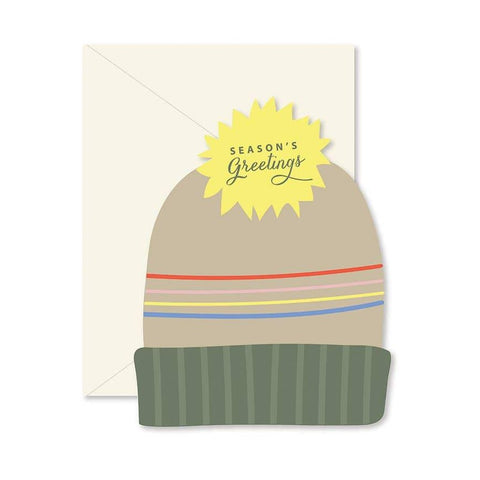 Seasons Greetings Hat Card