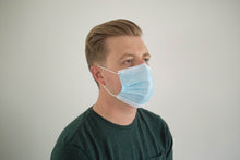 Load image into Gallery viewer, 3-ply single use disposable surgical masks (package of 50)