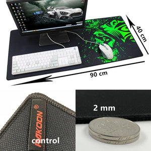 Lion Large Gaming Mouse/Desk Pad