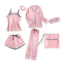 Load image into Gallery viewer, 7 Pieces Sleepwear Pajamas