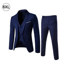 Load image into Gallery viewer, Men's Fashion Slim Suits