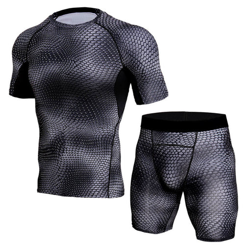Men's Fitness Clothing Set