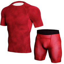 Load image into Gallery viewer, Men's Fitness Clothing Set
