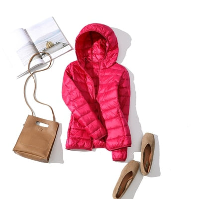 Duck Down Coat Women Outerwear