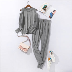 Casual Women's Two-piece Suit