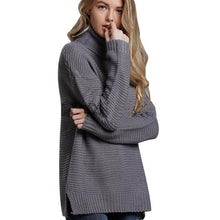 Load image into Gallery viewer, Casual Autumn Winter Turtleneck Sweater
