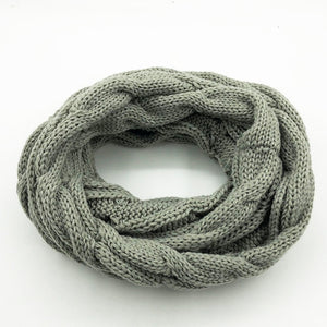 Fashion Knitted Snood Scarf