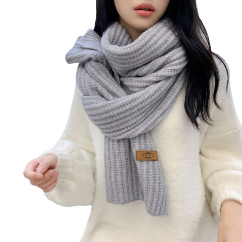 Knitted Scarves Shalws Female