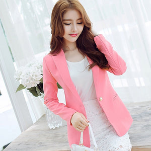 Ladies Blazer Long Sleeve