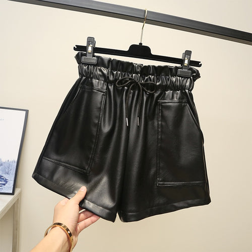 Winter Black Shorts