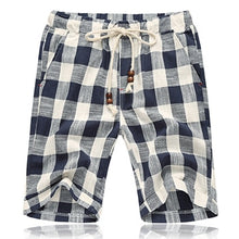 Load image into Gallery viewer, Men's Linen Casual Shorts