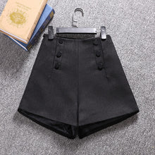 Load image into Gallery viewer, Korean Woolen Shorts Women