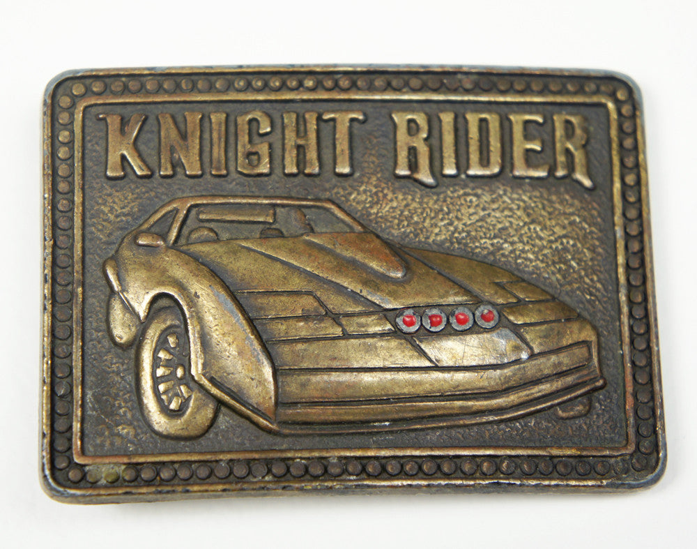 1980's Knight Rider Children's Belt Buckle