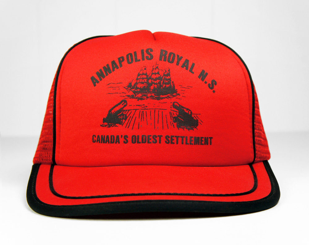 Annapolis Royal Trucker Hat - Canada's Oldest Settlement