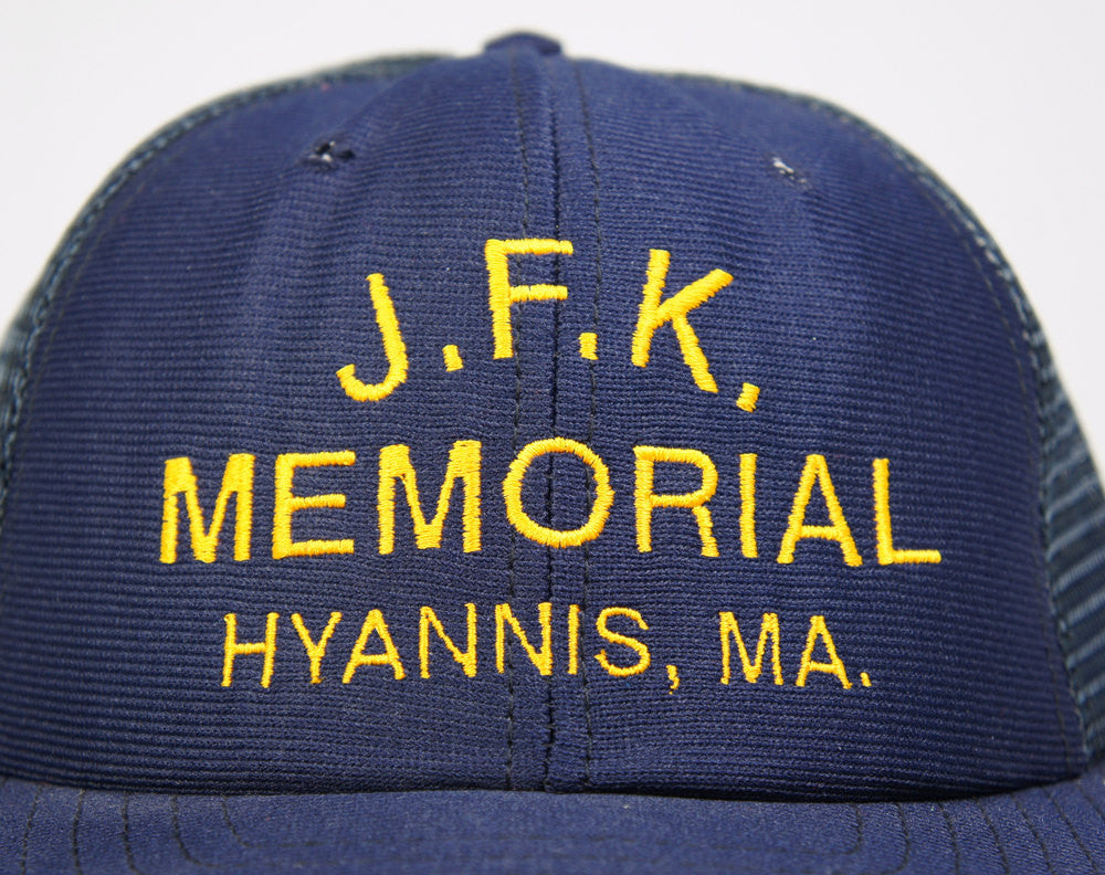 J.F.K. Memorial Trucker Hat - Hyannis, MA