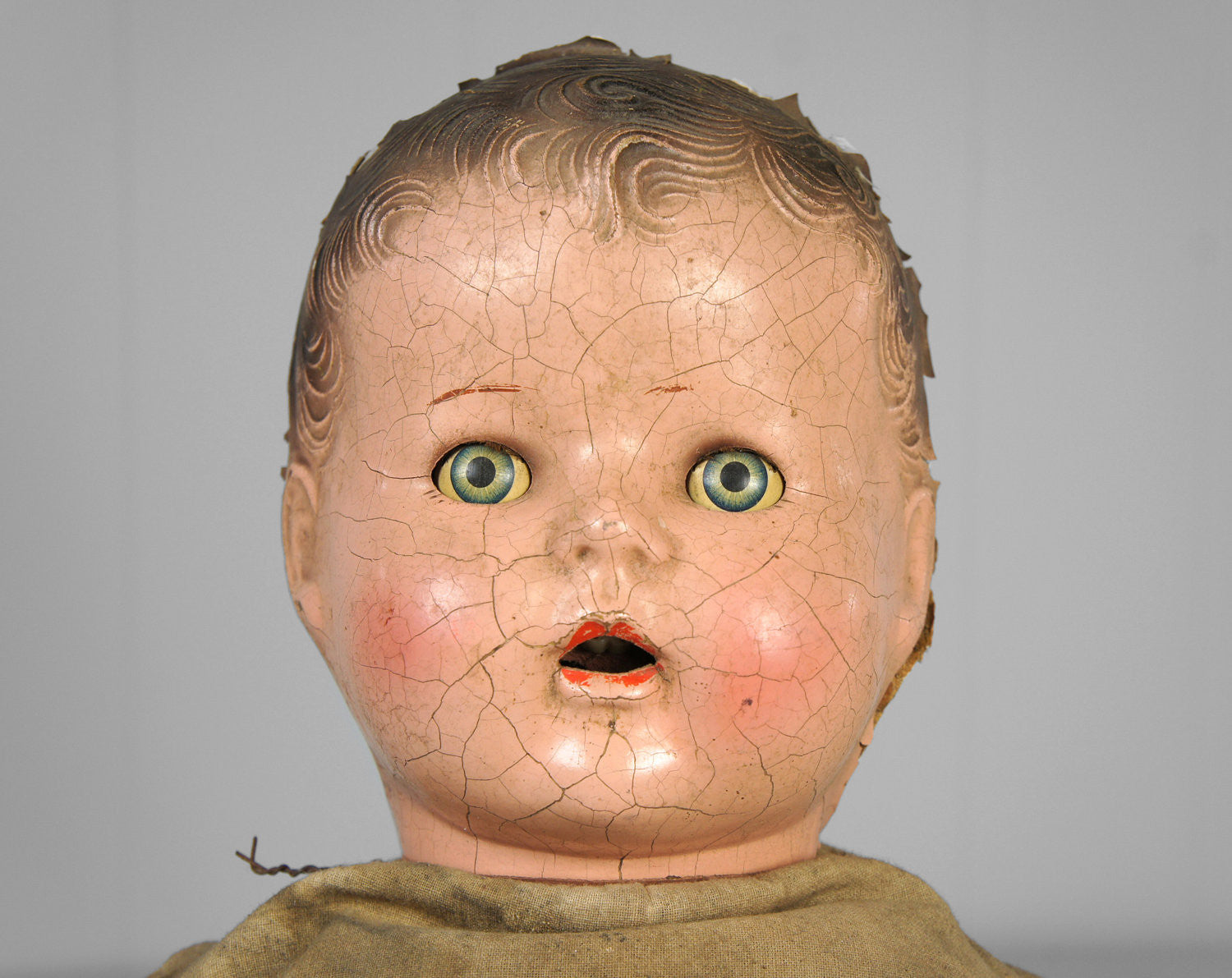 Early 1900's Composition Doll w/ Sleepy Eyes