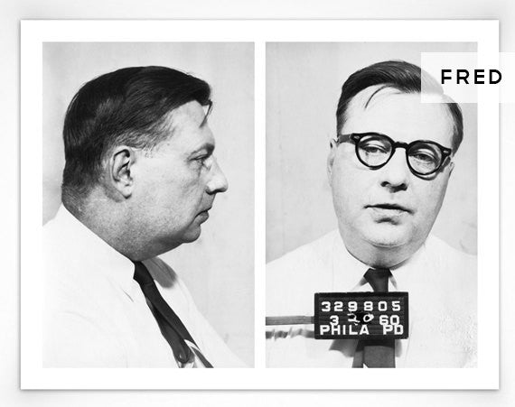 1960's Philadelphia Police Department Mugshot Prints
