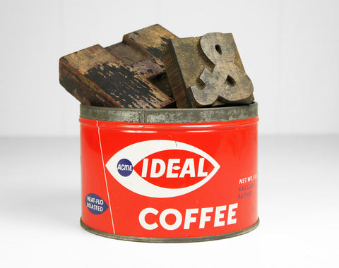 1950's Ideal Coffee Can