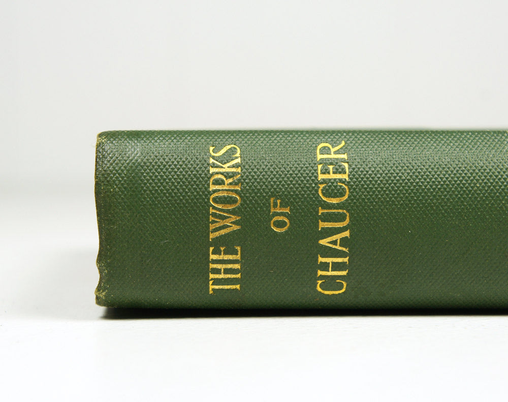 The Works of Chaucer by Geoffrey Chaucer (1910)