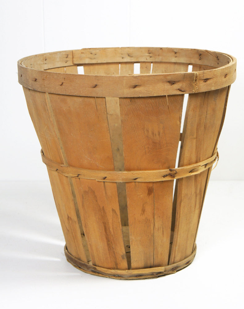 1950's Wooden Fruit Basket