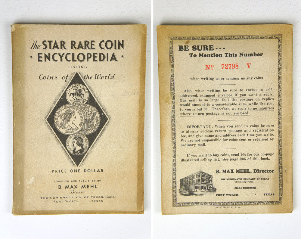 The Star Rare Coin Encyclopedia by B. Max Mehl (1944)