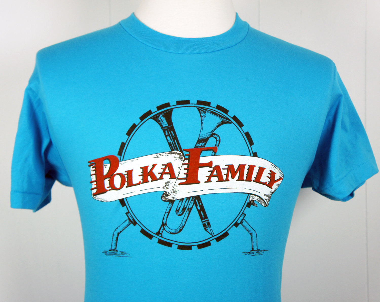 1980's Polka Family Band T-Shirt - Size M