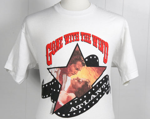 1980's Gone With The Wind Movie T-Shirt - Size L