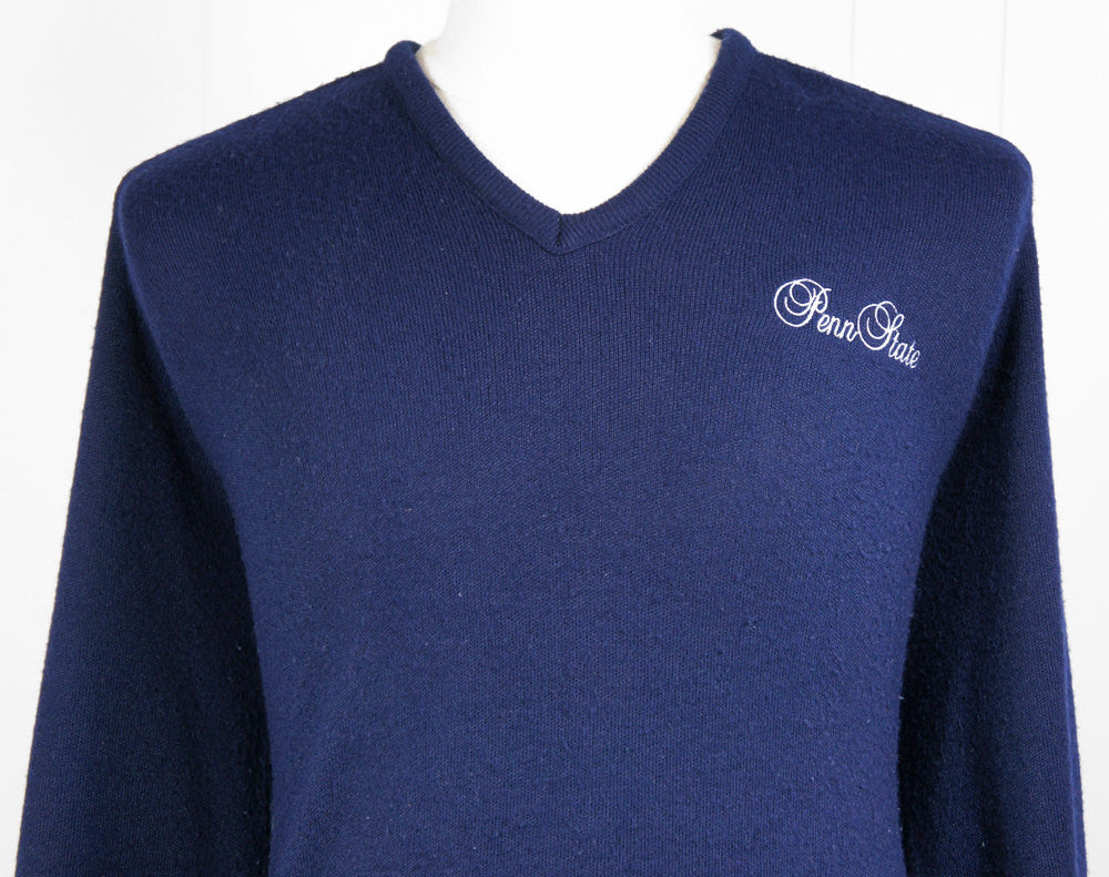 1970's Penn State University Sweater - Size L