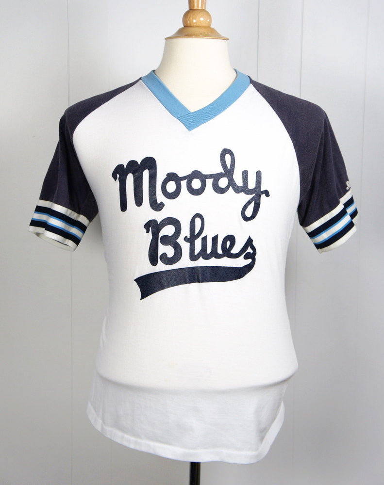 1970's Moody Blues Baseball Jersey T-Shirt - Size M