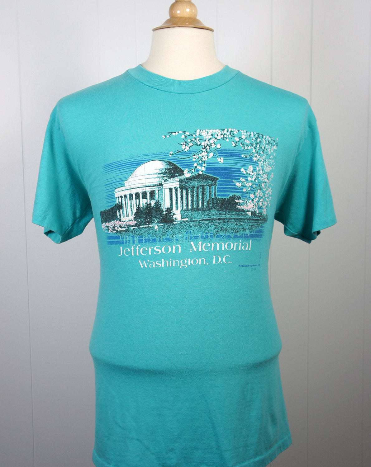 1980's Washington D.C. Monument T-Shirt - Size L