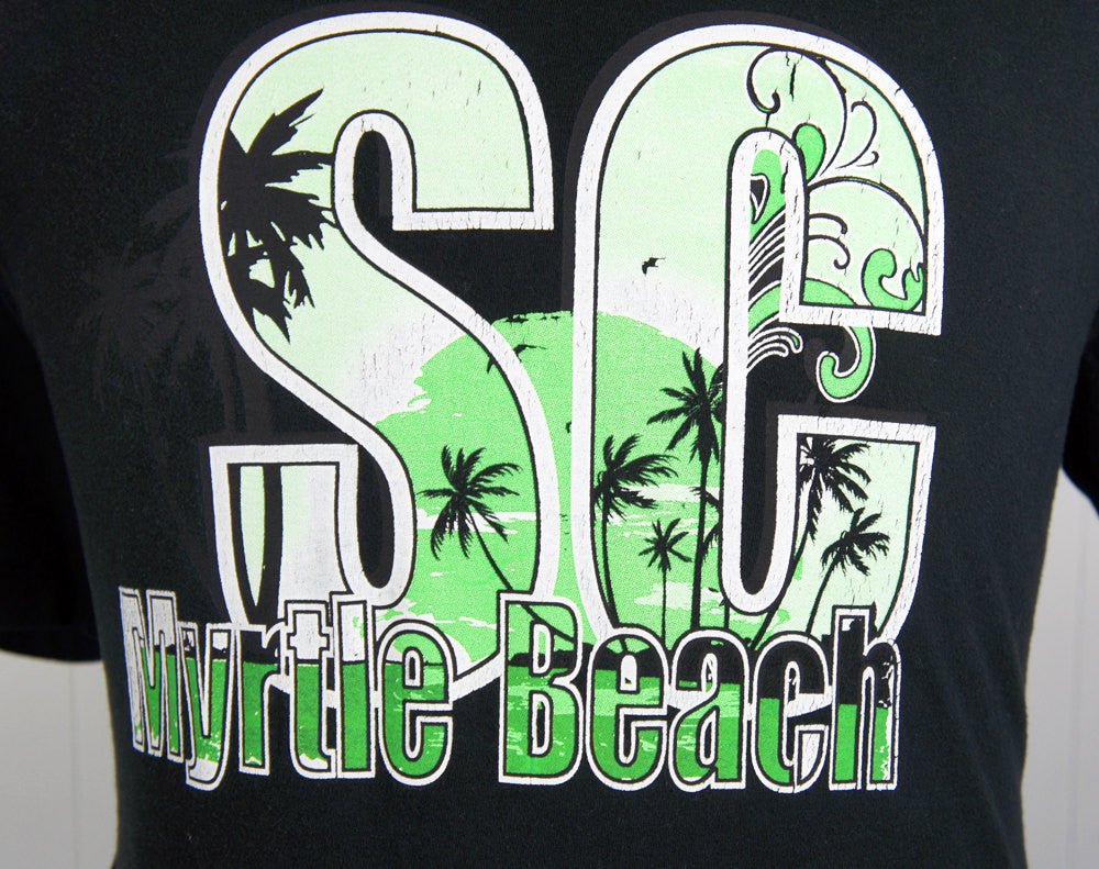 1980's Myrtle Beach, South Carolina T-Shirt - Size L