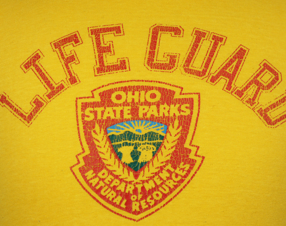 1980's Ohio State Parks Lifeguard T-Shirt - Size M