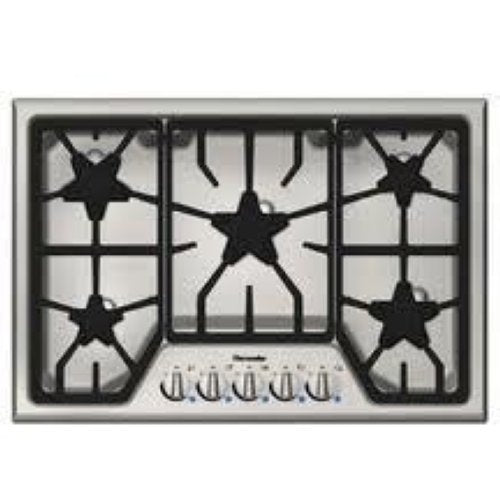 "Thermador Masterpiece 30"" 5 Star Burners with Power Burner Cooktop SGS305FS"